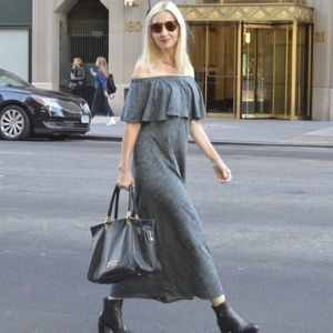 Soft Surroundings Carina Off Shoulder Maxi Dress